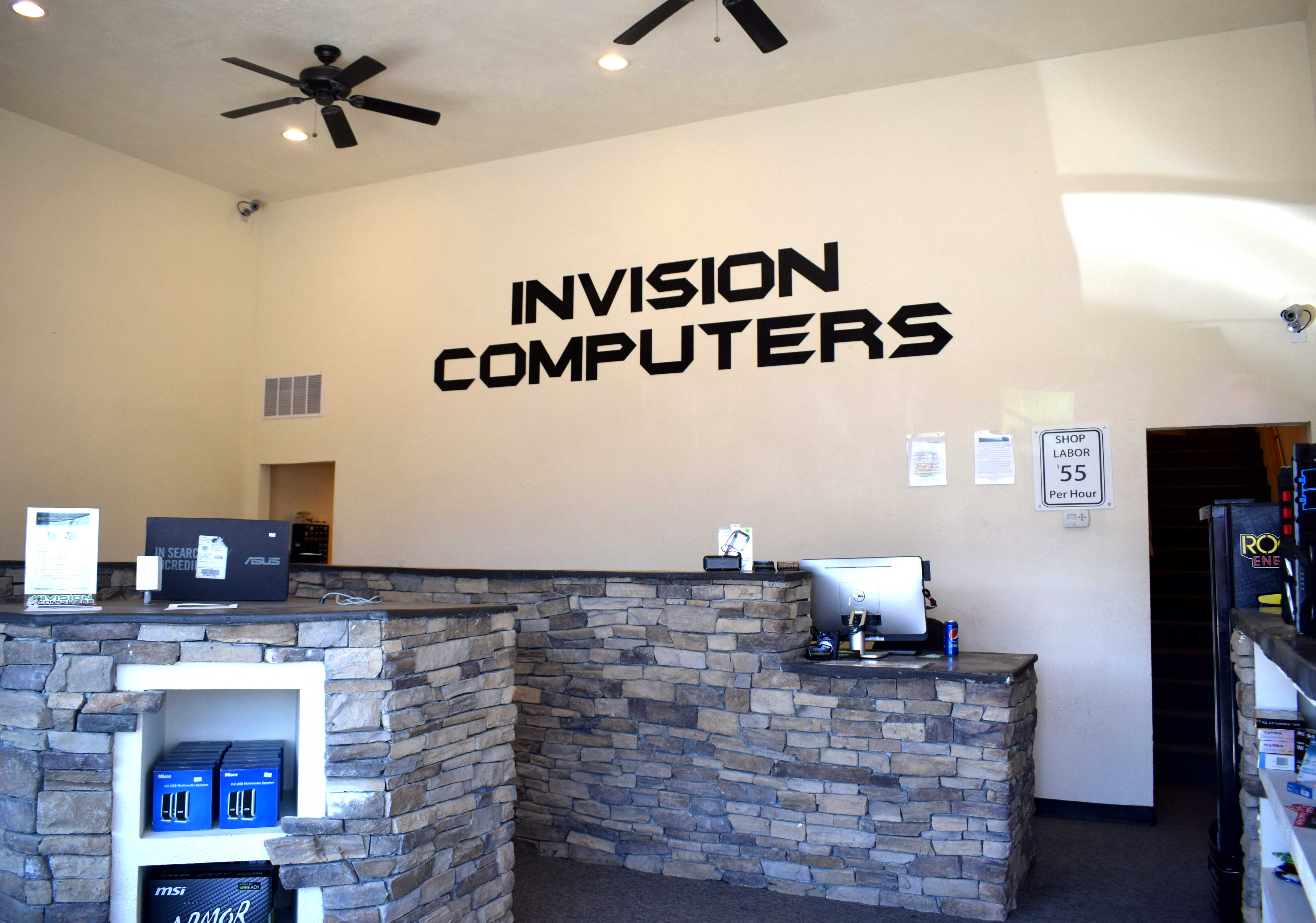 Invision Computers In Roy Invision Computers